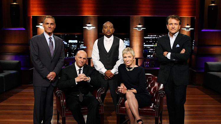 "The cast of ""Shark Tank."""
