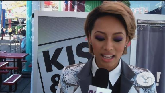 Keri Hilson on acting in 'Riddick'