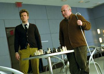 Ewan McGregor and Bob Hoskins in 20th Century Fox's Stay