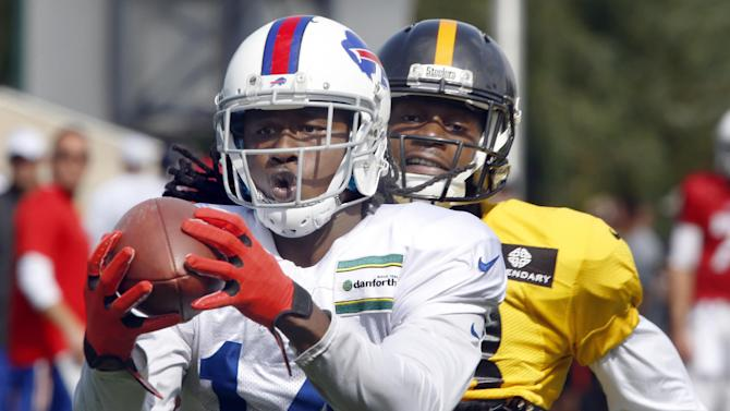 Bills rookie Sammy Watkins leaves with rib injury