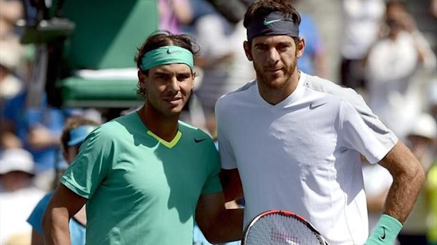 Juan Martin Del Potro lost out to Rafael Nadal in Indian Wells