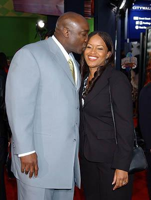 Michael Clarke Duncan and wife Alicia at the LA premiere of Universal's The Scorpion King