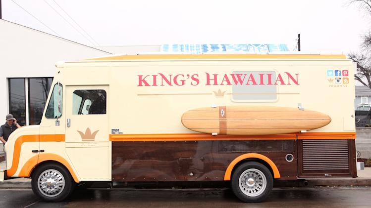 King's Hawaiian Food Truck at Chef the Movie Press Junket at South by Southwest, on Saturday, March 8, 2014 in Austin, Texas. (Photo by Hal Horowitz/Invision for King's Hawaiian/AP Images)