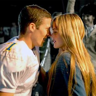 Matt Saracen and Aimee Teegarden in a scene from 'Friday Night Lights' -- NBC