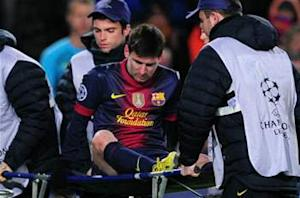 Messi unsure on return, but injury not as severe as feared