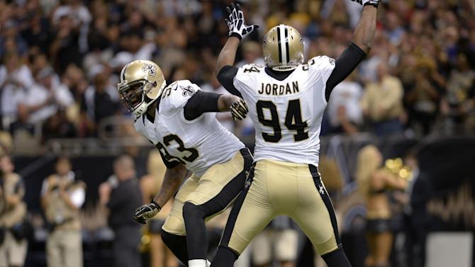 Saints' depleted D-line aims to keep up pressure