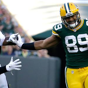 Green Bay Packers tight end Richard Rodgers 32-yard reception