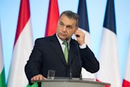 &lt;p&gt;Hungarian Prime Minister Viktor Orban reacts during a press conference on March 6, 2013 in Warsaw. Hungary&#39;s parliament approved Monday changes to the constitution that have raised fears in Brussels and Washington of growing authoritarianism under Orban in the European Union member state.&lt;/p&gt;