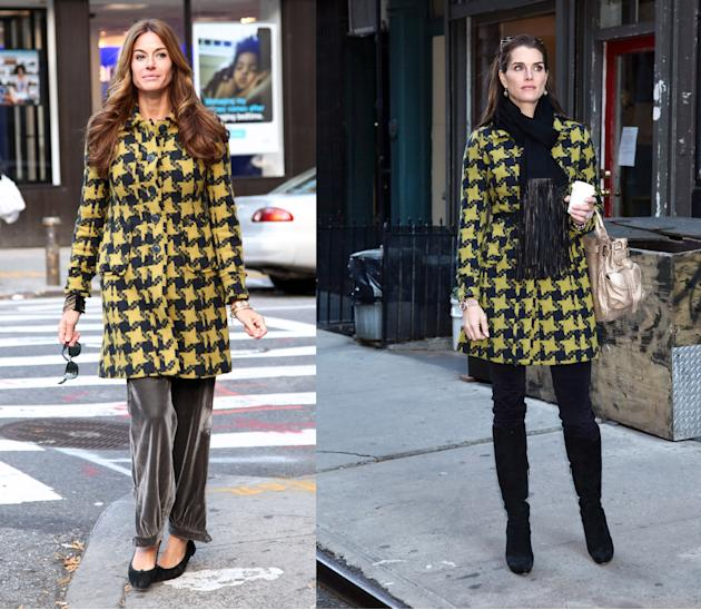 Kelly Bensimon vs. Brooke Shields in Boden