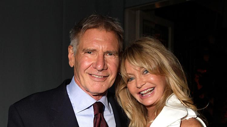 Elle's 17th annual Women in Hollywood Tribute 2010 Harrison Ford Goldie Hawn
