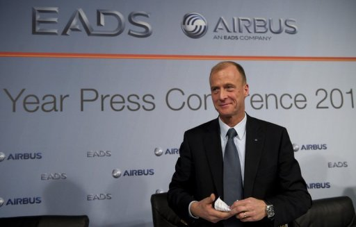 <p>Talks for a proposed merger of British arms maker BAE Systems and European aerospace giant EADS have reached an advanced stage, the head of EADS Tom Enders, pictured in January 2012, said in a letter Wednesday to employees.</p>