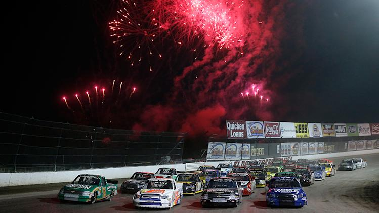 Epic week of NASCAR racing was study in contrast