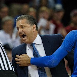 Kentucky's John Calipari ejected from game in under 3 minutes
