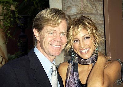William H. Macy and Jennifer Esposito