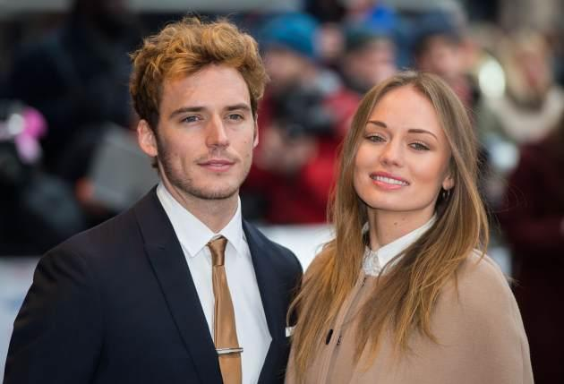 Sam Claflin and Laura Haddock attend the Prince's Trust Celebrate Success Awards at Odeon Leicester Square on March 26, 2013 in London -- Getty Premium