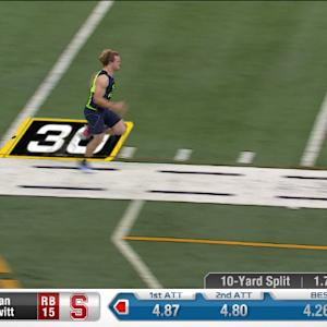 2014 Combine workout: Ryan Hewitt