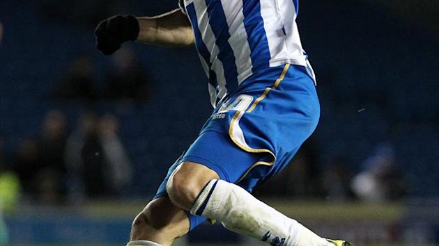 Will Buckley has scored 13 goals in 53 games for Brighton