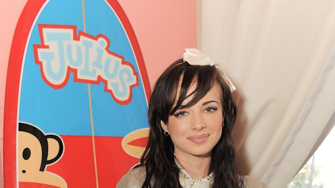 """IMAGE DISTRIBUTED FOR SABAN BRANDS - Ashley Rickards at the Paul Frank """"Let's Have a Fun Day"""" Event, on Monday, April, 8th, 2013 in Los Angeles. (Photo by Jordan Strauss/Invision for Saban Brands/AP Images)"""
