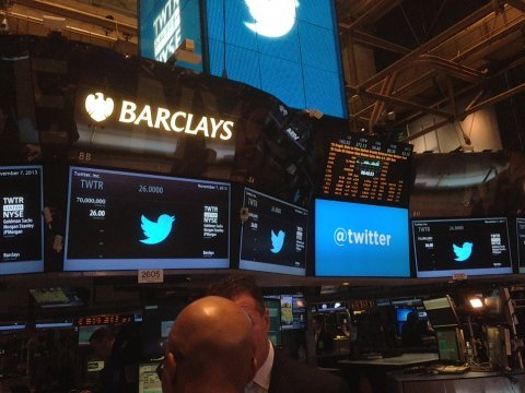 twitter trading terminals new york stock exchange
