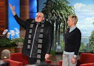 Gru's First Television Appearance!