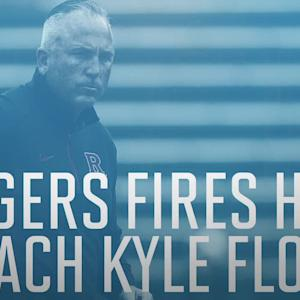 Rutgers fires football coach Kyle Flood