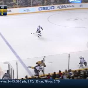 Sidney Crosby Hit on Eric Nystrom (19:39/1st)