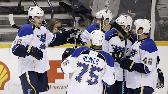 Cole's goal, assist lead Blues over Predators 2-1