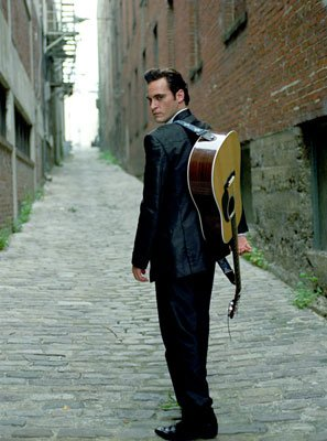 Joaquin Phoenix as Johnny Cash in 20th Century Fox's Walk the Line