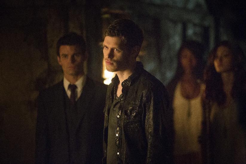 "This publicity image released by The CW shows Joseph Morgan as Klaus, center, in a scene from ""The Originals,"" premiering Thursday, Oct. 3 at 9 p.m. EST. (AP Photo/The CW,Skip Bolen)"