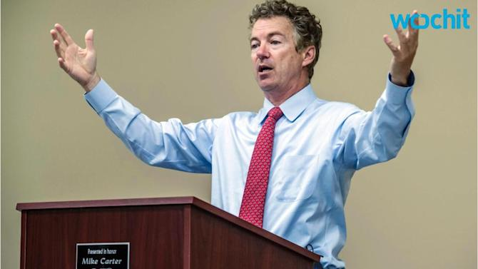 It's Official: Rand Paul Says He's Running for President