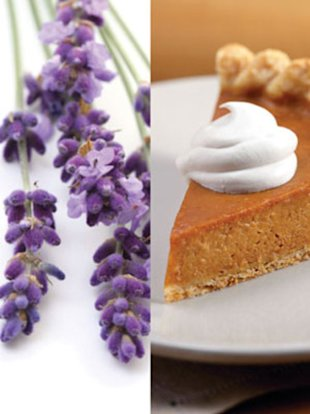 Lavender and Pumpkin Pie? What the?