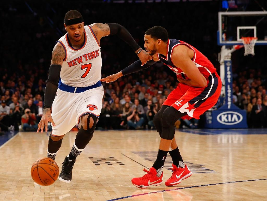 Knicks slump again, Anthony surprise over Fisher axe