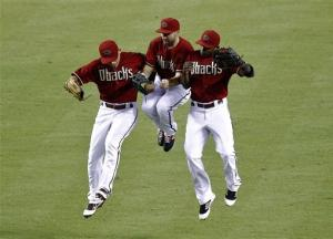 Cahill leads Diamondbacks over Dodgers 3-2