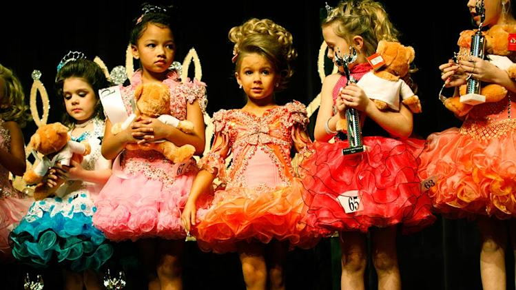 "Tiny tots at the Southern Celebrity Beauty Pageant in Charleston, West Virginia as seen in ""Toddlers & Tiaras."""