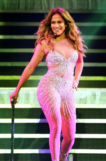 Jennifer Lopez performs live on stage at 02 Arena in London on October 22, 2012 -- Getty Images