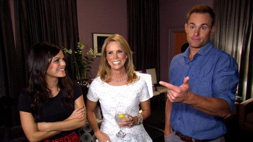 Rachel, Cheryl and Andy Talk Game Night