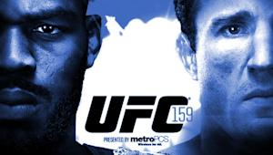 UFC 159: Jones vs. Sonnen Gate and Attendance