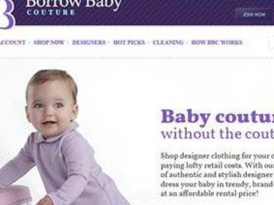 Rent Clothes for Fast-Growing Tots, Keep Out Clutter