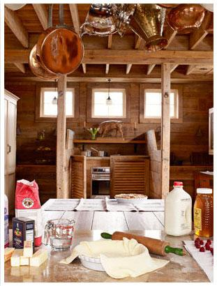 Rustic Accents in the Kitchen