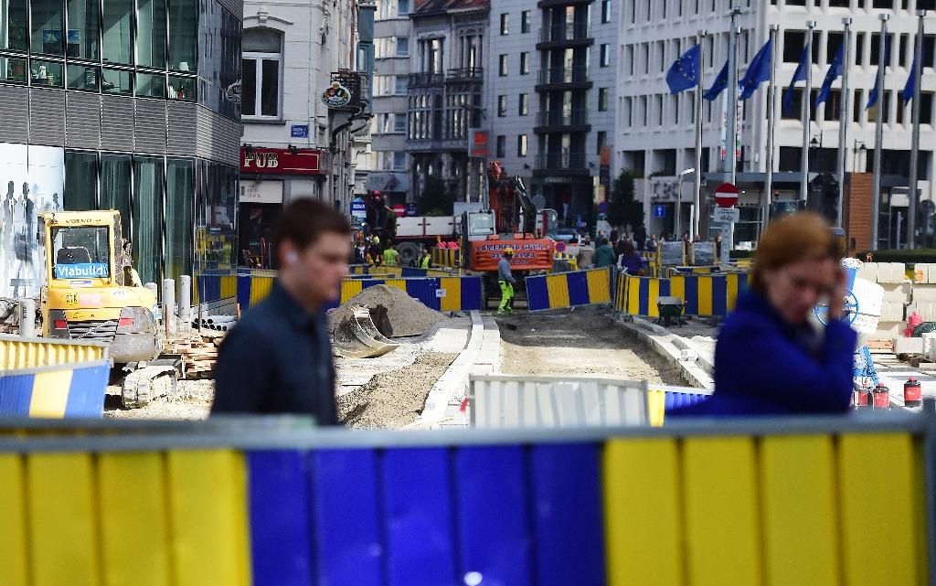 Soulless roundabout at EU's heart awaits transplant