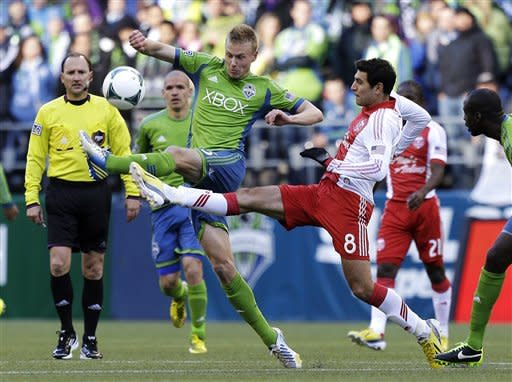 Late goal gives Portland 1-1 draw with Seattle