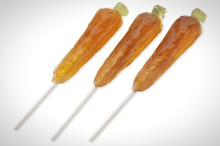 Carrot Lollipops