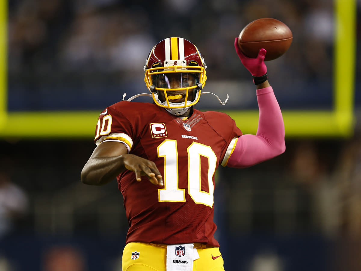 The NFL season hasn't even started, and things between the Redskins and Robert Griffin III are already a mess