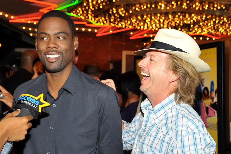 Good Hair LA Premiere 2009 Chris Rock David Spade