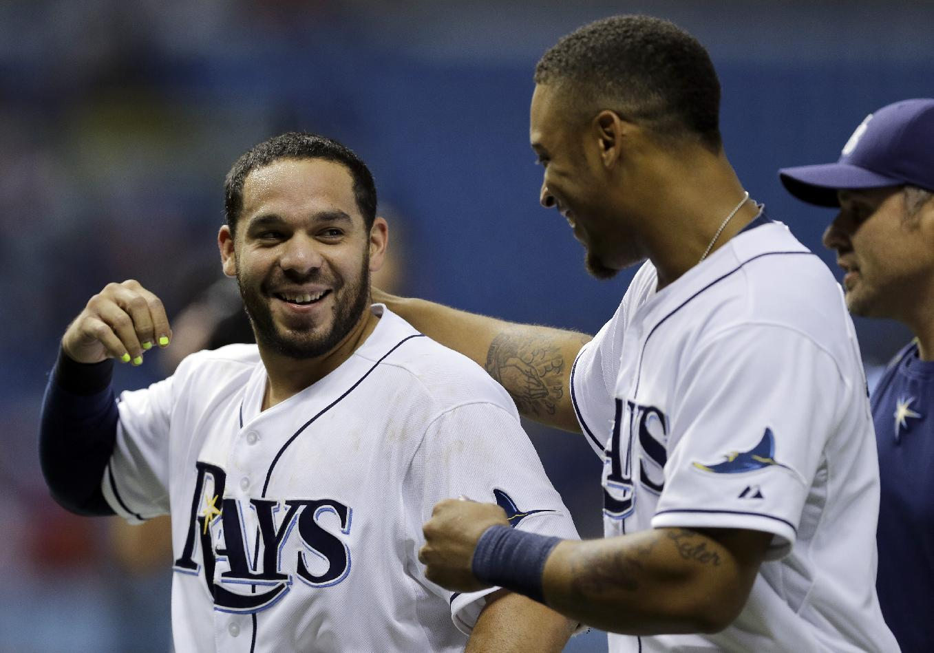 Ray of light: Rene Rivera lifts Tampa Bay in the bottom of the ninth