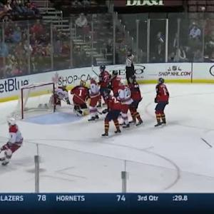 Roberto Luongo Save on Justin Faulk (09:36/2nd)