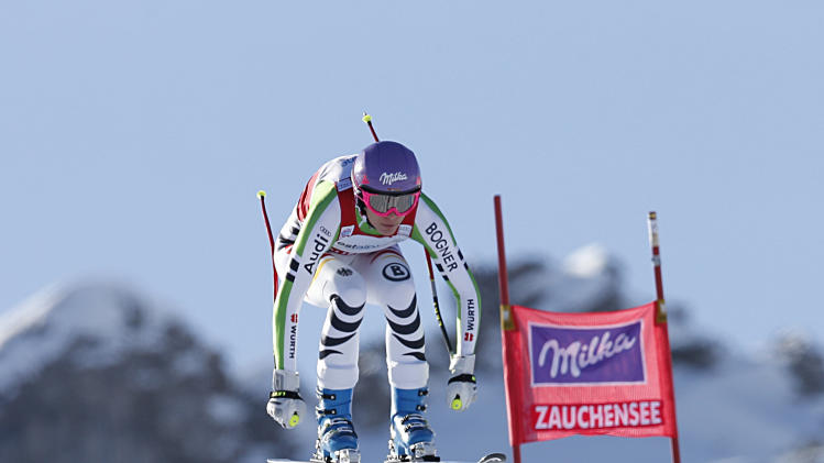 Already with 2 golds, Riesch relaxed before Sochi