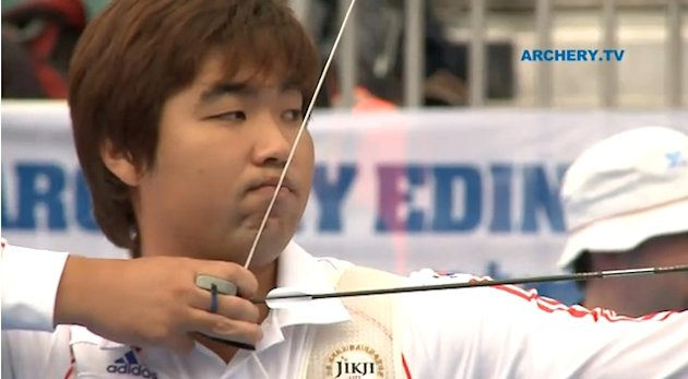Korean archer Im Dong-hyun, 25