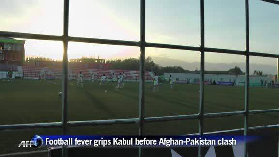 Football fever grips Kabul over Afghan-Pakistan clash