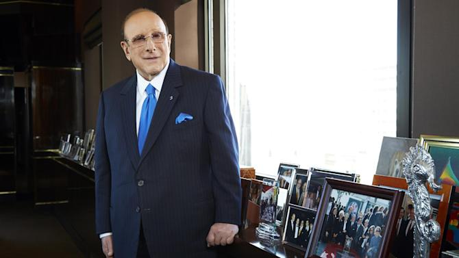 """This Feb. 18, 2013 photo shows  Sony Music Entertainment's Chief Creative Officer of and famous hitmaker Clive Davis posing for a portrait in New York. Davis' releases his memoir """"The Soundtrack of My Life,"""" on Tuesday. (Photo by Dan Hallman/Invision/AP)"""